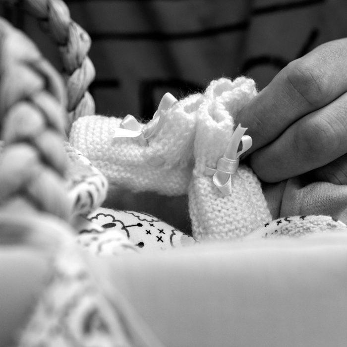 Blij dat je bij ons was tijdens de bevalling, thuis en bij de crematie van onze dochter